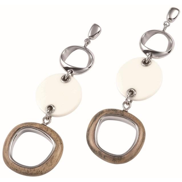 boucles d'oreille femme bijoux Fossil JF84192040