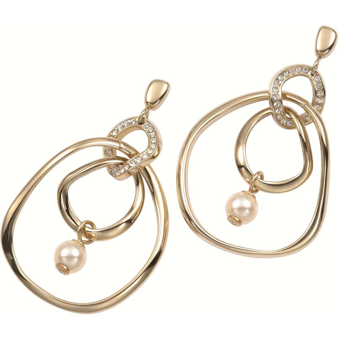 boucles d'oreille femme bijoux Fossil JF84753040