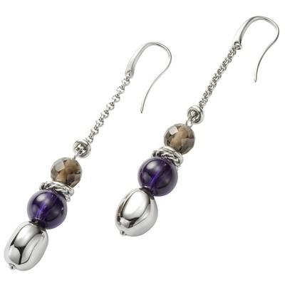 boucles d'oreille femme bijoux Fossil JF85571040