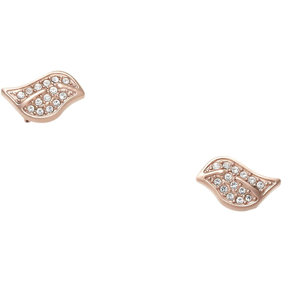 boucles d'oreille femme bijoux Fossil JF88074040
