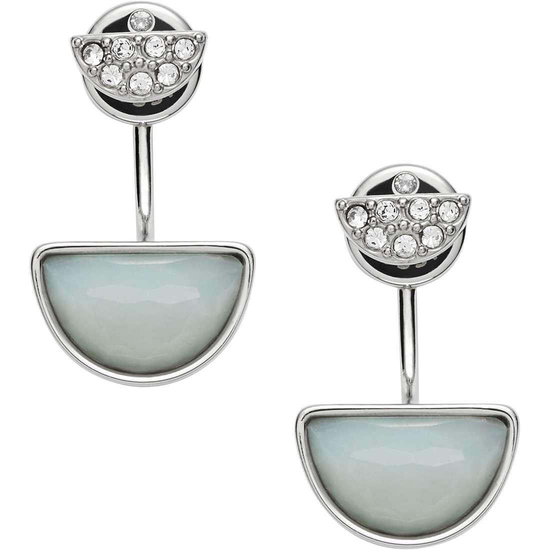 boucles d'oreille femme bijoux Fossil Spring 16 JF02223040