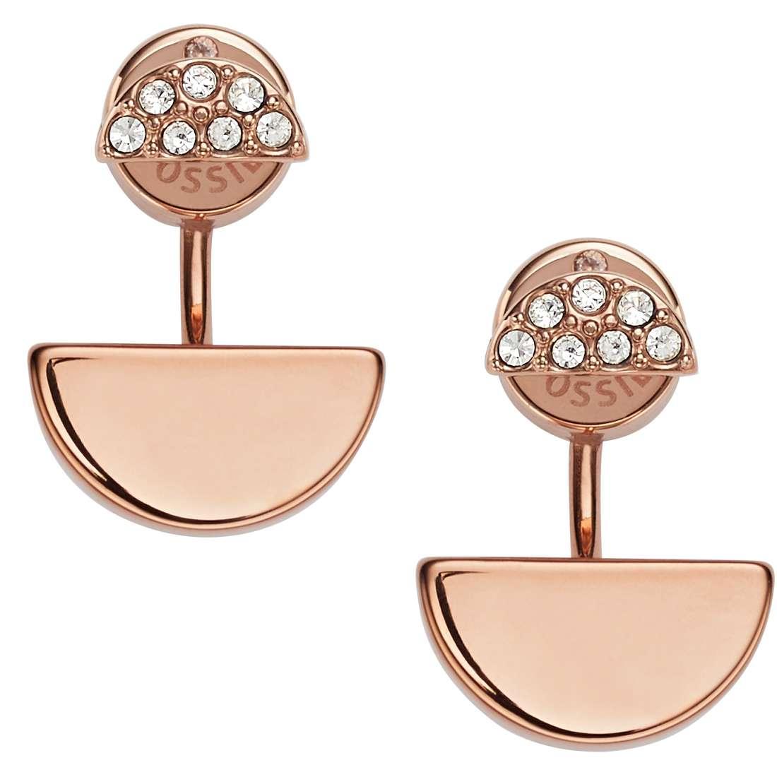 boucles d'oreille femme bijoux Fossil Spring 16 JF02224791