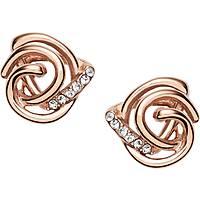boucles d'oreille femme bijoux Fossil Spring 16 JF02252791