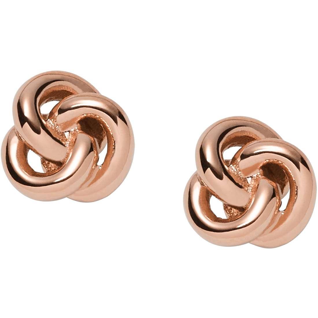 boucles d'oreille femme bijoux Fossil Summer 15 JF01364791