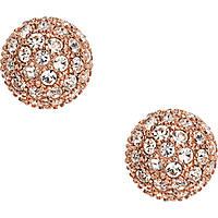 boucles d'oreille femme bijoux Fossil Vintage Glitz JF01405791