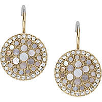 boucles d'oreille femme bijoux Fossil Vintage Glitz JF02601710