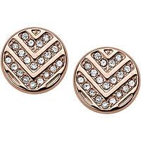 boucles d'oreille femme bijoux Fossil Vintage Glitz JF02745791