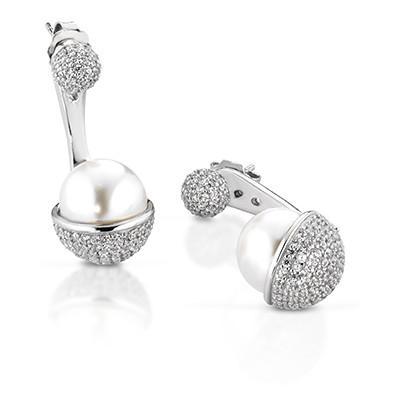 boucles d'oreille femme bijoux Giannotti Light Pearl GIANNOTTIPA104