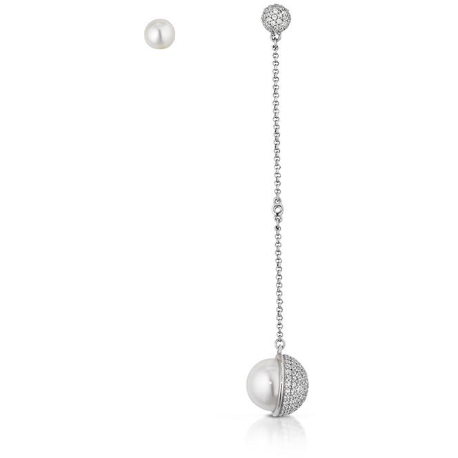 boucles d'oreille femme bijoux Giannotti Light Pearl GIANNOTTIPA105