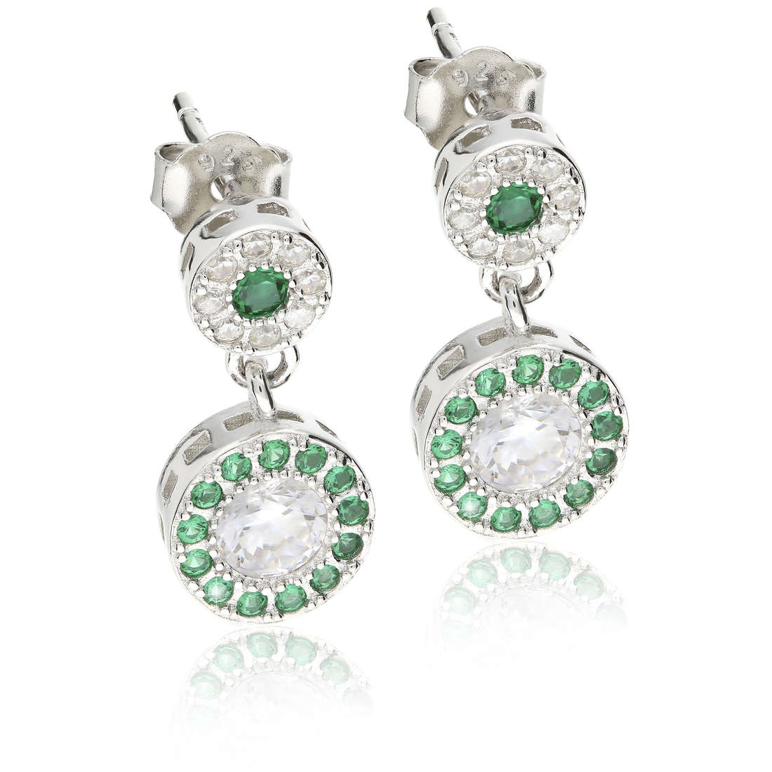 boucles d'oreille femme bijoux GioiaPura GPSRSOR2303-VE