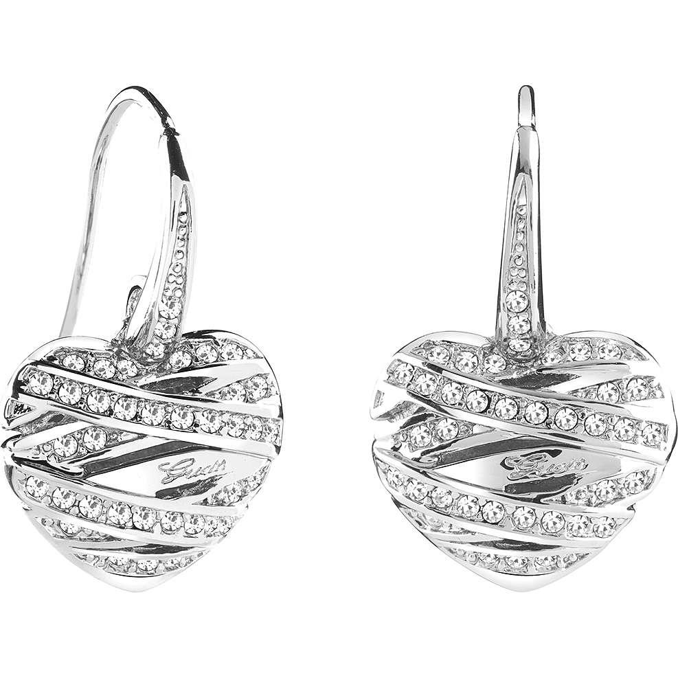 boucles d'oreille femme bijoux Guess Fashion UBE21581