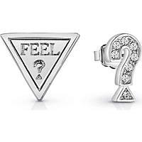 boucles d'oreille femme bijoux Guess Feelguess UBE83082