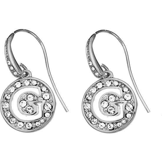 boucles d'oreille femme bijoux Guess G Girl UBE51426