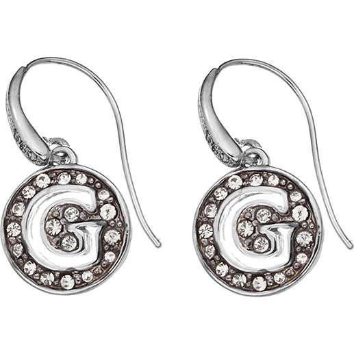 boucles d'oreille femme bijoux Guess G Girl UBE51429