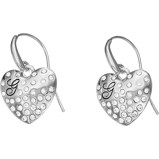 boucles d'oreille femme bijoux Guess GLOSSY HEARTS UBE51433