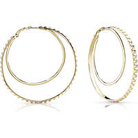 boucles d'oreille femme bijoux Guess Hoops I Did It Again UBE84070