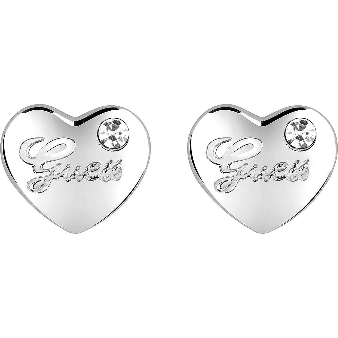 boucles d'oreille femme bijoux Guess Iconic UBE21519