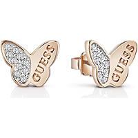boucles d'oreille femme bijoux Guess Mariposa UBE83022