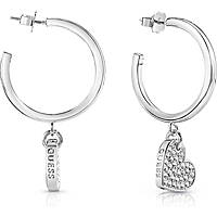 boucles d'oreille femme bijoux Guess My Sweetie UBE84081