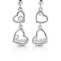 boucles d'oreille femme bijoux Guess Princess UBE85073