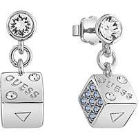boucles d'oreille femme bijoux Guess Rolling Dice UBE83072