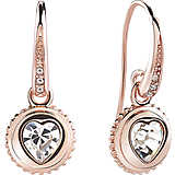 boucles d'oreille femme bijoux Guess Rose Gold UBE21524
