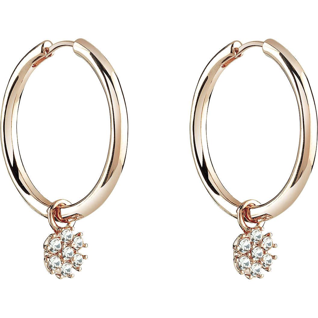 boucles d'oreille femme bijoux Guess Rose Gold UBE21546