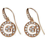 boucles d'oreille femme bijoux Guess Rose Gold UBE51428