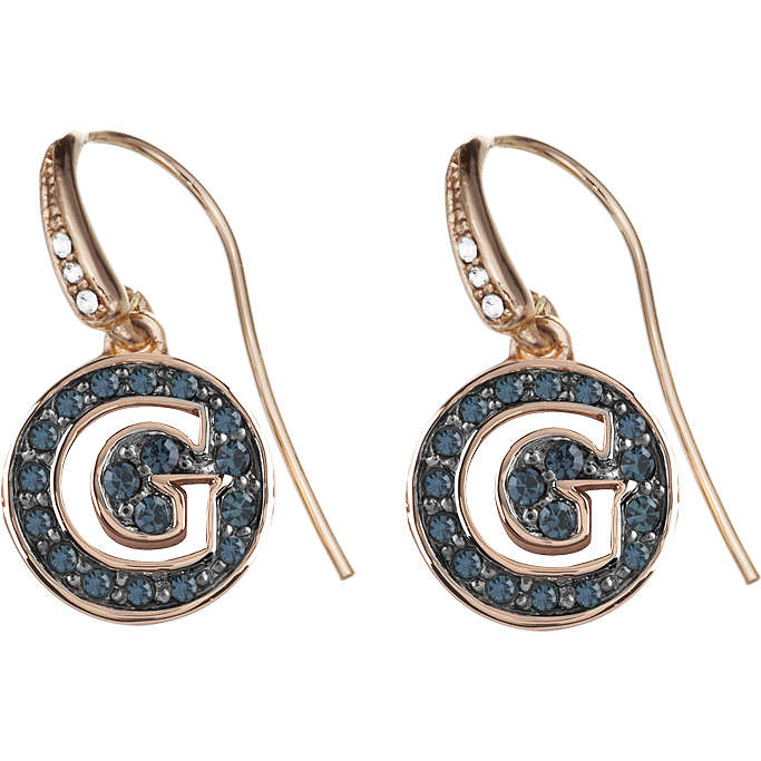 boucles d'oreille femme bijoux Guess Rose Gold UBE91402