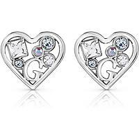 boucles d'oreille femme bijoux Guess Treasure UBE84110