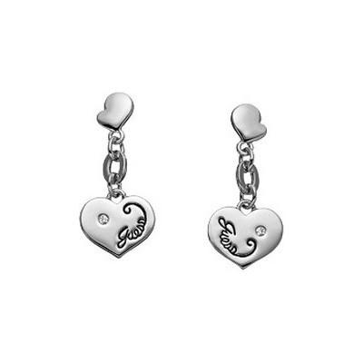 boucles d'oreille femme bijoux Guess UBE11014