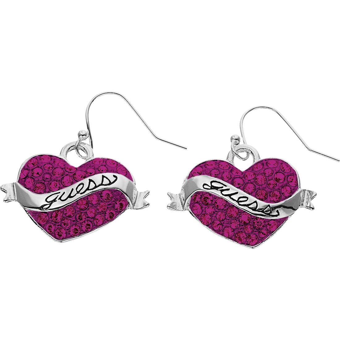 boucles d'oreille femme bijoux Guess UBE11221