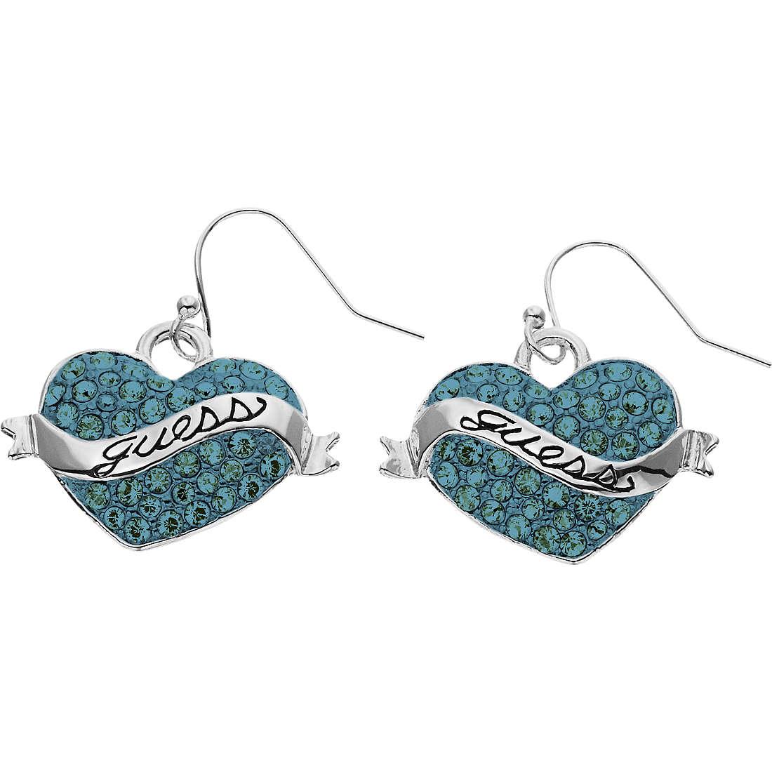 boucles d'oreille femme bijoux Guess UBE11222