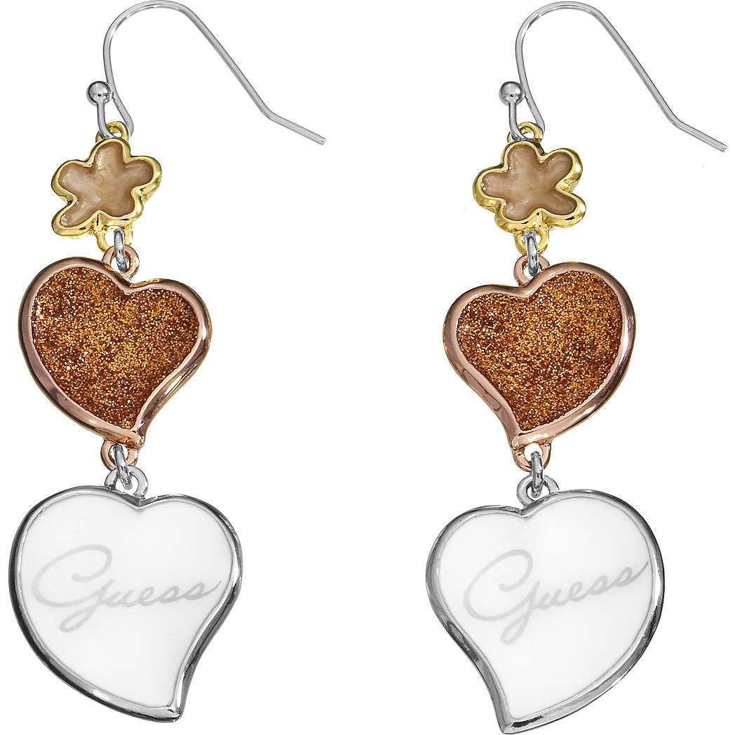 boucles d'oreille femme bijoux Guess UBE21205