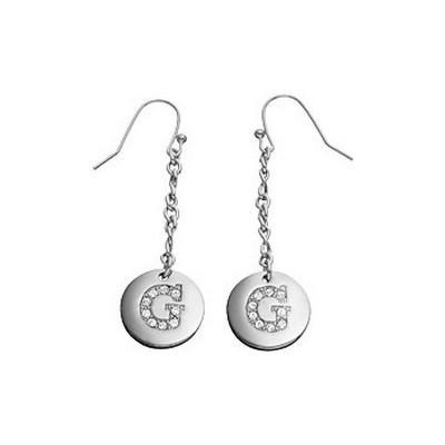 boucles d'oreille femme bijoux Guess UBE31010