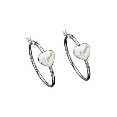 boucles d'oreille femme bijoux Guess UBE31116