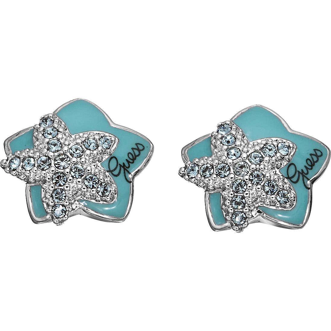 boucles d'oreille femme bijoux Guess UBE41201