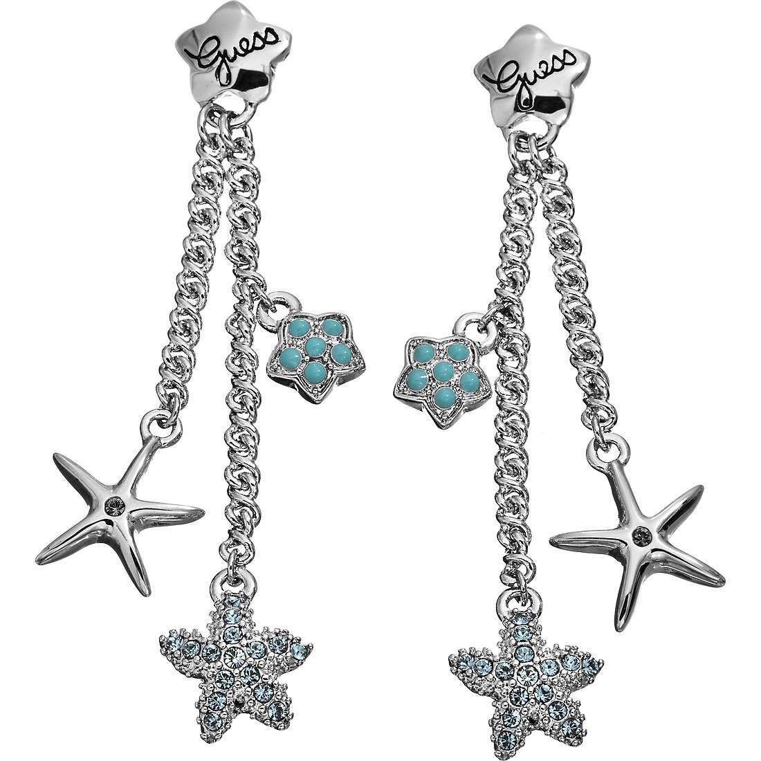 boucles d'oreille femme bijoux Guess UBE41203