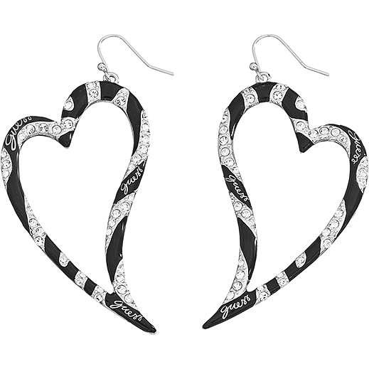 boucles d'oreille femme bijoux Guess UBE71204