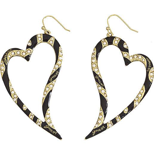boucles d'oreille femme bijoux Guess UBE71205