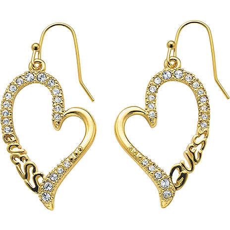 boucles d'oreille femme bijoux Guess UBE71234