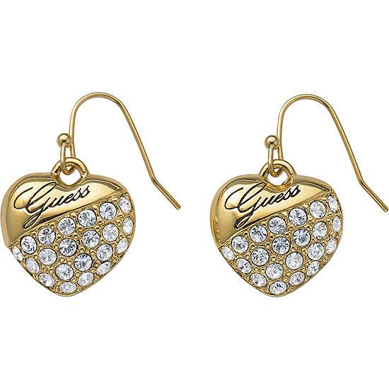 boucles d'oreille femme bijoux Guess UBE71240