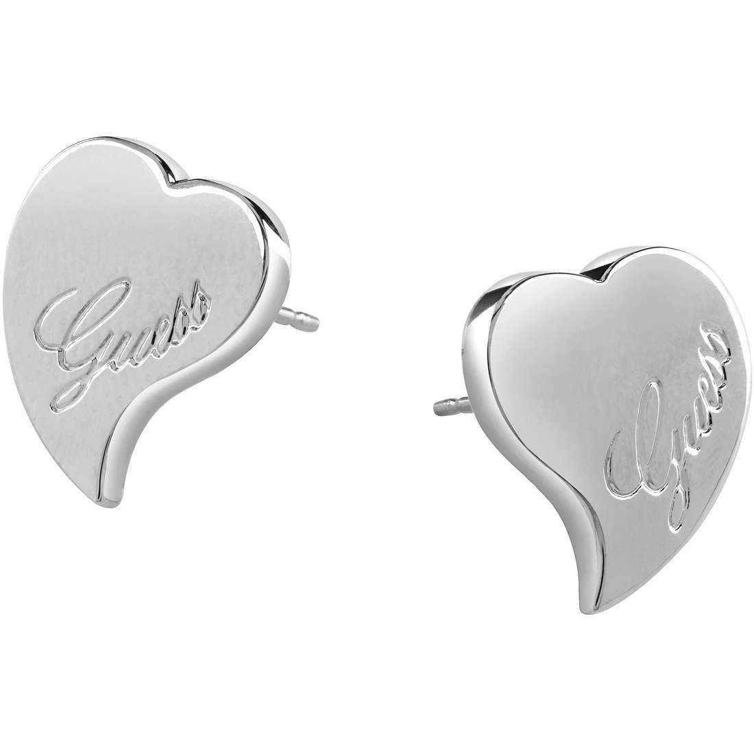 boucles d'oreille femme bijoux Guess UBE71526
