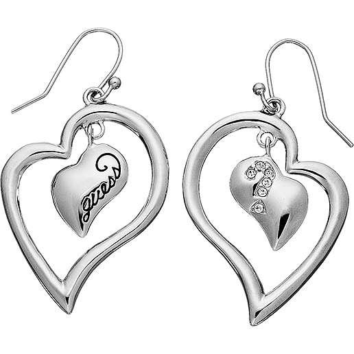 boucles d'oreille femme bijoux Guess UBE80803