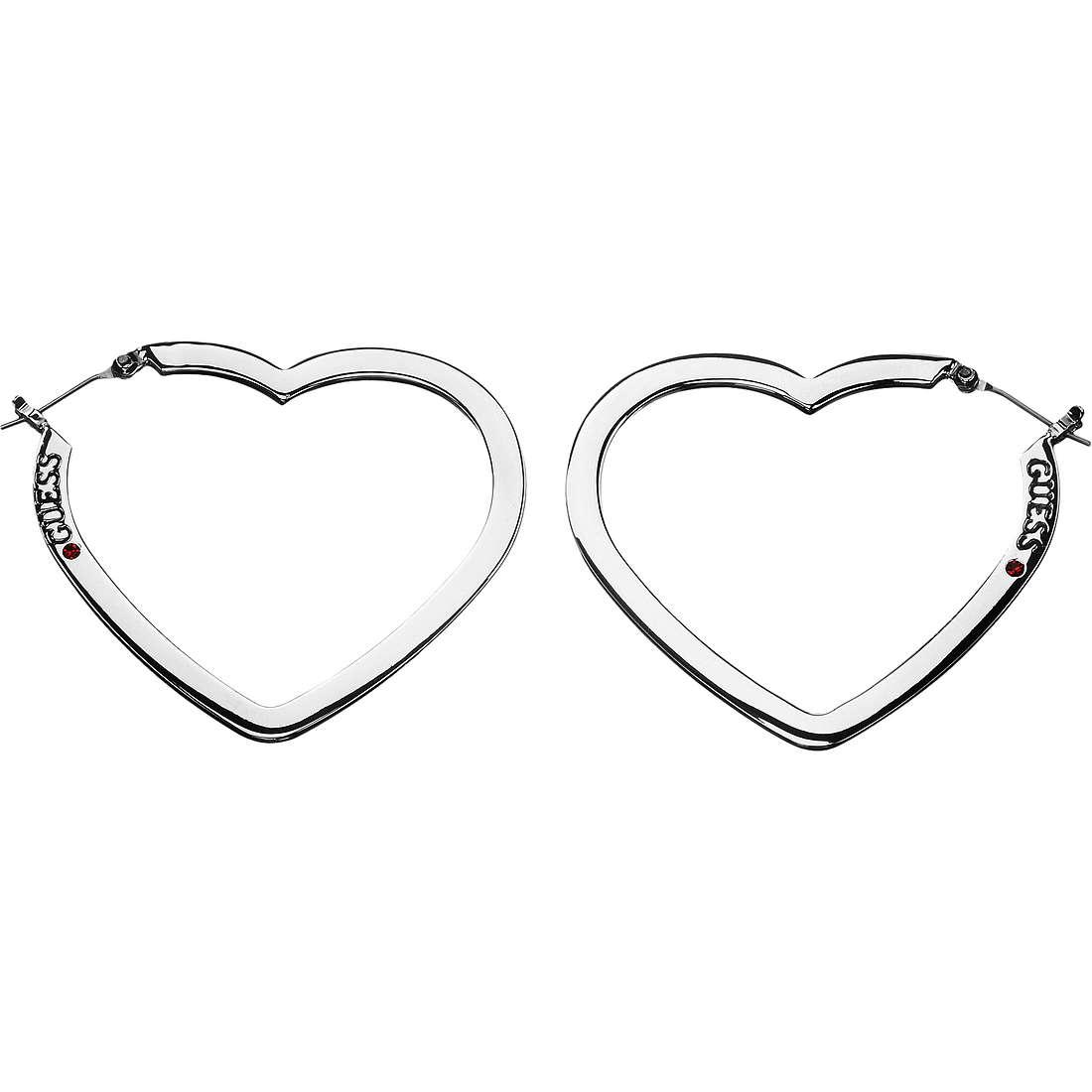 boucles d'oreille femme bijoux Guess UBE81009