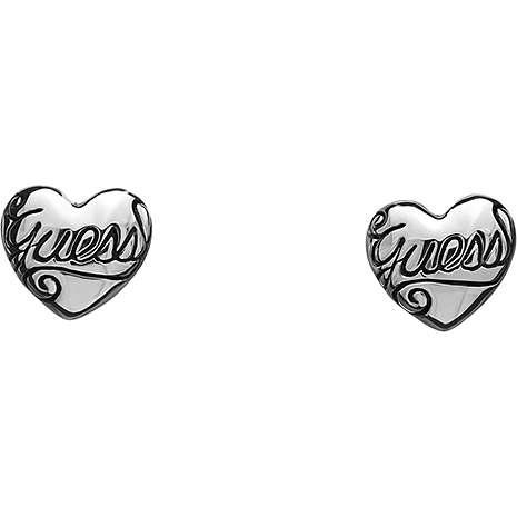 boucles d'oreille femme bijoux Guess UBE81025