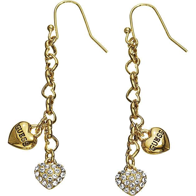 boucles d'oreille femme bijoux Guess UBE81150