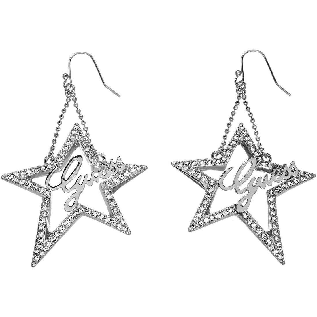 boucles d'oreille femme bijoux Guess UBE81157