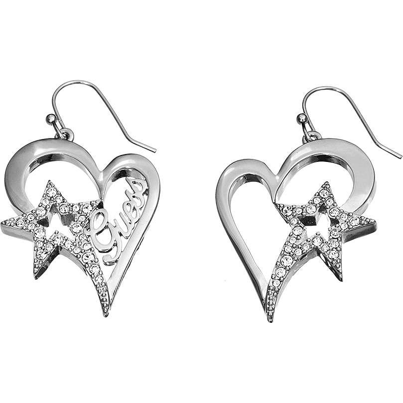 boucles d'oreille femme bijoux Guess UBE81303