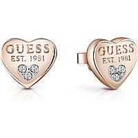 boucles d'oreille femme bijoux Guess UBE82083